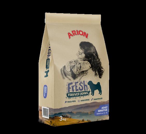 Arion Fresh Adult Sensitive 3 kg oder 12 kg (SPARTIPP: unsere Staffelpreise)
