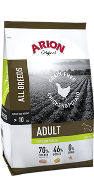 Arion Original Grain-Free Adult Chicken & Potato 12 kg (SPARTIPP: unsere Staffelpreise)
