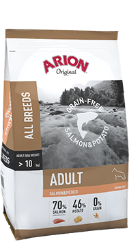 Arion Original Grain-Free Adult Salmon & Potato 12 kg (SPARTIPP: unsere Staffelpreise)