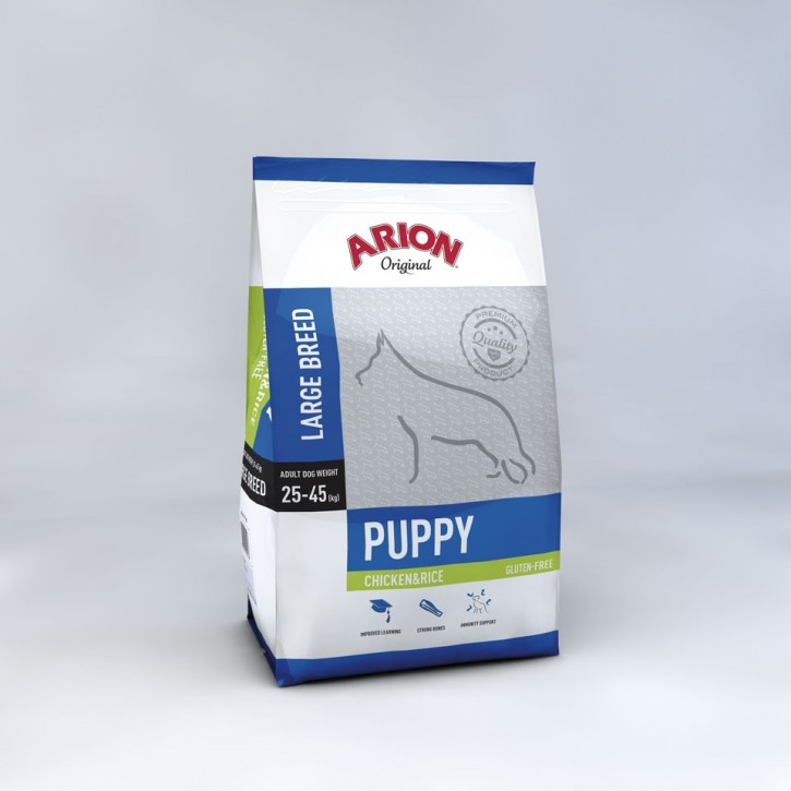 Arion Original Puppy Large Breed Chicken & Rice 12 kg (SPARTIPP: unsere Staffelpreise)