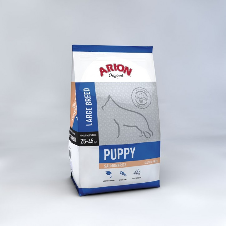 Arion Original Puppy Large Breed Salmon & Rice 3 kg oder 12 kg (SPARTIPP: unsere Staffelpreise)