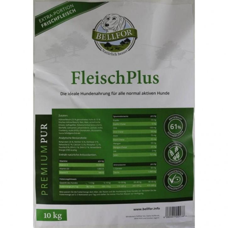 Bellfor Premium Pur Fleischplus 10 kg (SPARTIPP: unsere Staffelpreise)
