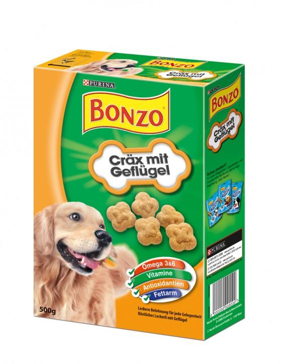 Bonzo Cräx mit Geflügel 8 x 500 g