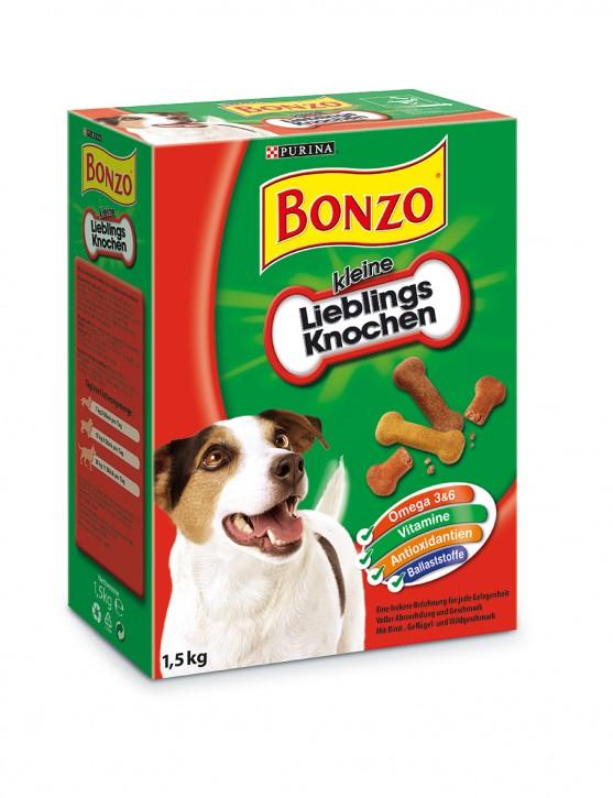 Bonzo Kleine Lieblingsknochen 500 g oder 1,5 kg