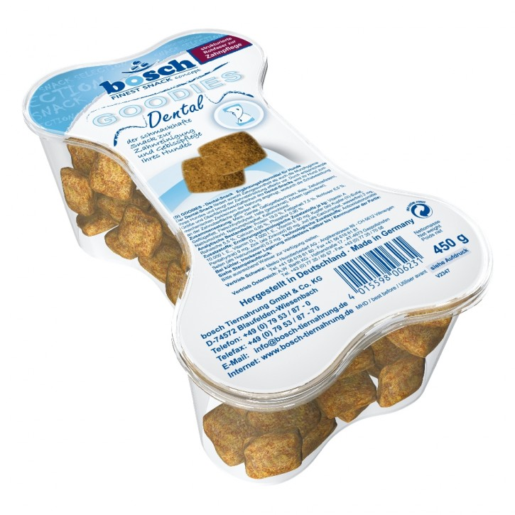 Bosch Dog Snack Goodies Dental 450 g (SPARTIPP: unsere Staffelpreise)