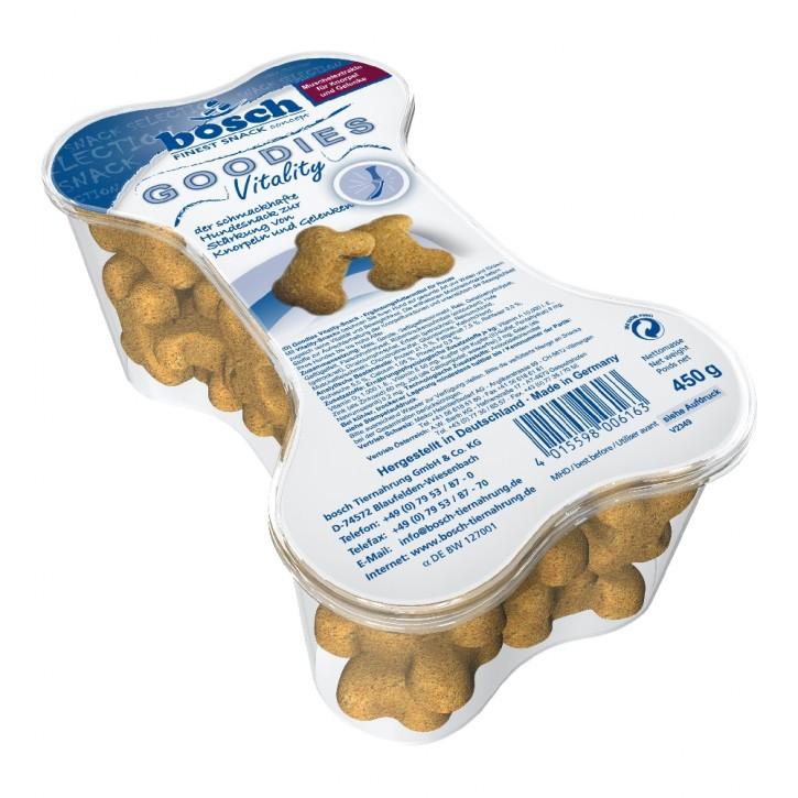 Bosch Dog Snack Goodies Vitality 450 g (SPARTIPP: unsere Staffelpreise)