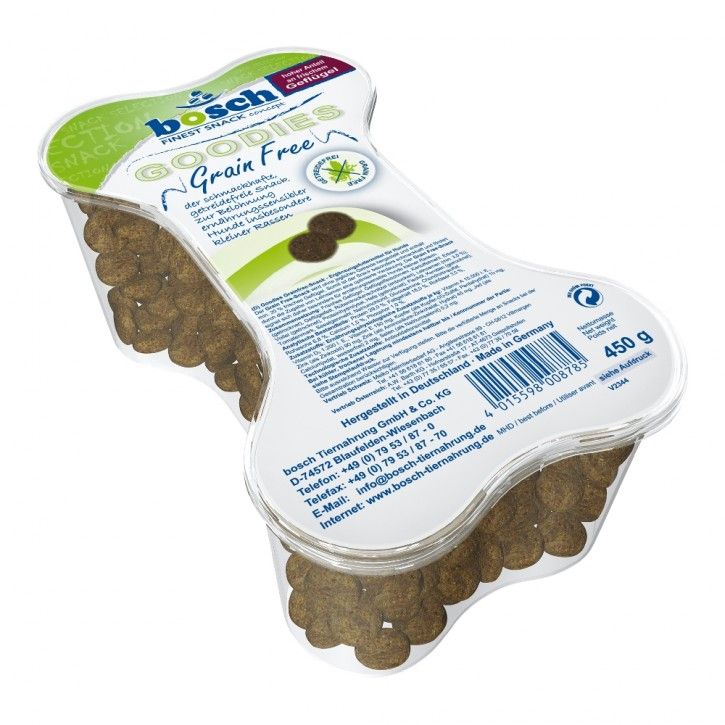 Bosch Dog Snack Goodies Grain Free 450 g (SPARTIPP: unsere Staffelpreise)