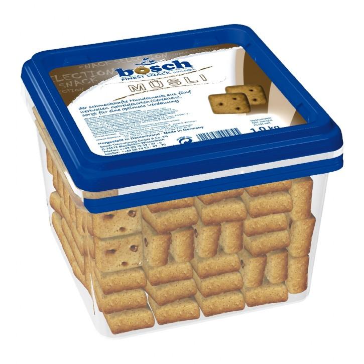 Bosch Dog Snack Müsli 1 kg Eimer (SPARTIPP: unsere Staffelpreise)
