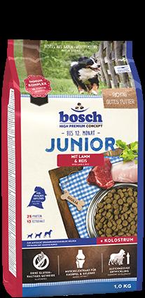 Bosch Junior Lamm & Reis 2 x 15 kg (Staffelpreis)