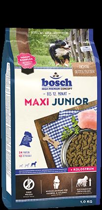 Bosch Maxi Junior 1 kg, 3 kg oder 15 kg (SPARTIPP: unsere Staffelpreise)