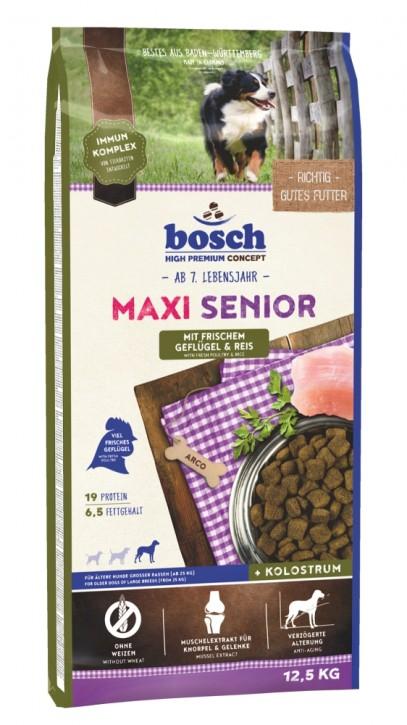 Bosch Maxi Senior Geflügel & Reis 1 kg, 2,5 kg oder 12,5 kg (SPARTIPP: unsere Staffelpreise)