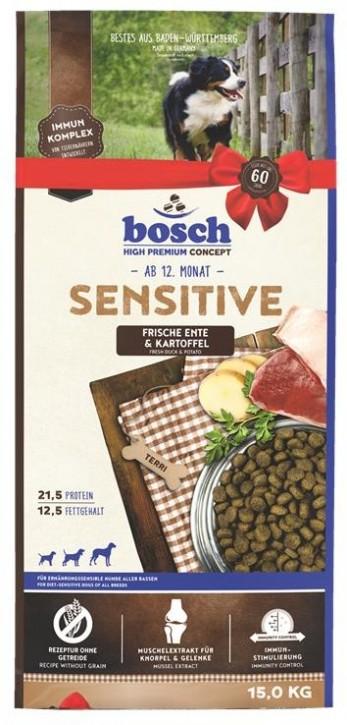 Bosch Sensitive Ente & Kartoffel 1 kg, 3 kg oder 15 kg (SPARTIPP: unsere Staffelpreise)