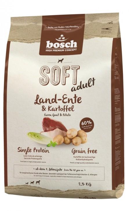Bosch Soft Adult Land-Ente & Kartoffel 2,5 kg