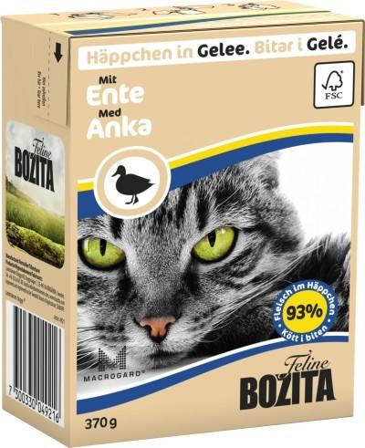 Bozita Cat Häppchen in Gelee mit Ente 16 x 370 g