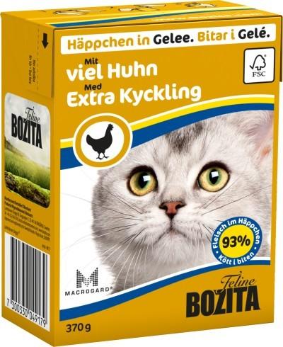 Bozita Cat Häppchen in Gelee mit viel Huhn 16 x 370 g