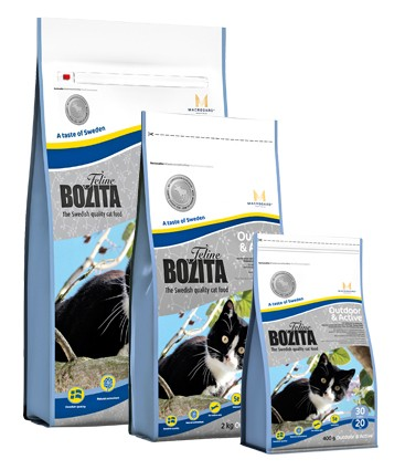 Bozita Feline Outdoor & Active 400 g, 2 kg oder 10 kg (SPARTIPP: unsere Staffelpreise)