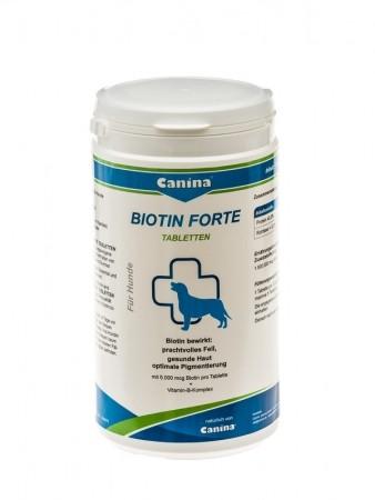 Canina Biotin Forte Tabletten 100 g, 200 g, 700 g oder 2 kg