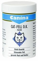 Canina Cat Fell O.K. Pulver 50 g oder 100 g