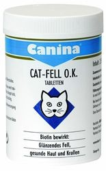 Canina Cat Fell O.K. Tabletten 50 g oder 125 g