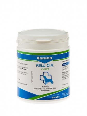 Canina Fell O.K. Pulver 200 g, 500 g oder 2 kg