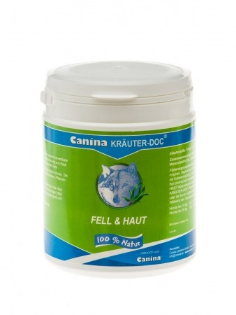 Canina KRÄUTER DOC Fell & Haut 150 g oder 300 g