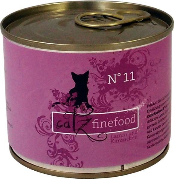 Catz finefood No.11 Lamm & Kaninchen 85 g, 200 g, 400 g oder 800 g