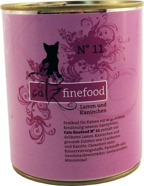 Catz finefood No.11 Lamm & Kaninchen 6 x 800 g