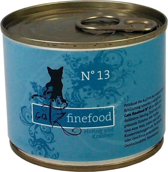 Catz finefood No. 13 Hering & Krabben 85 g, 200 g, 400 g oder 800 g