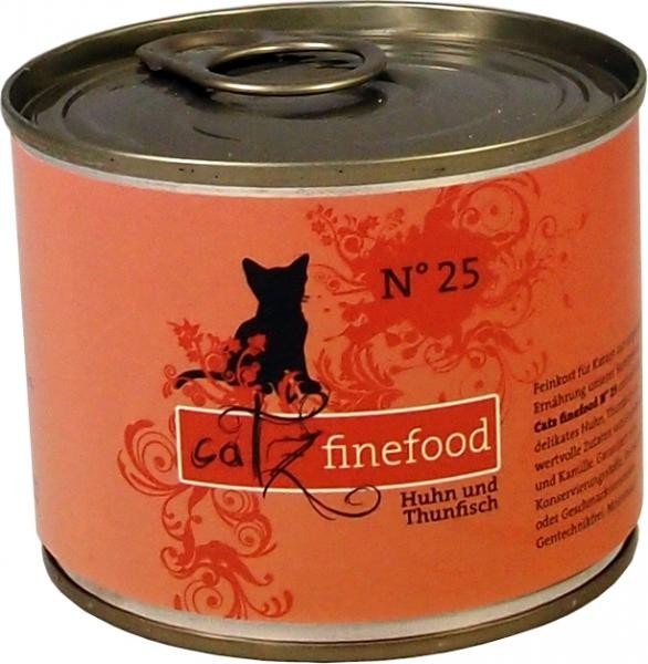 Catz finefood No. 25 Huhn & Thunfisch 85 g, 200 g oder 400 g