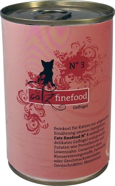 Catz finefood No. 3 Geflügel 6 x 400 g