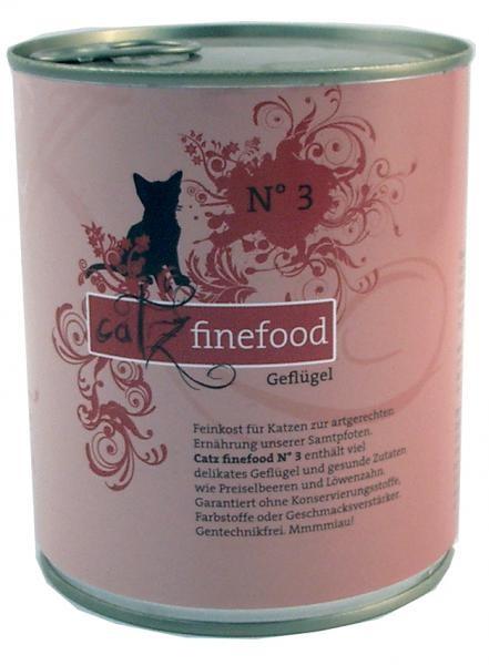 Catz finefood No. 3 Geflügel 6 x 800 g