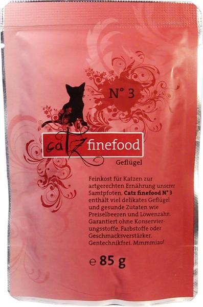 Catz finefood No. 3 Geflügel 16 x 85 g