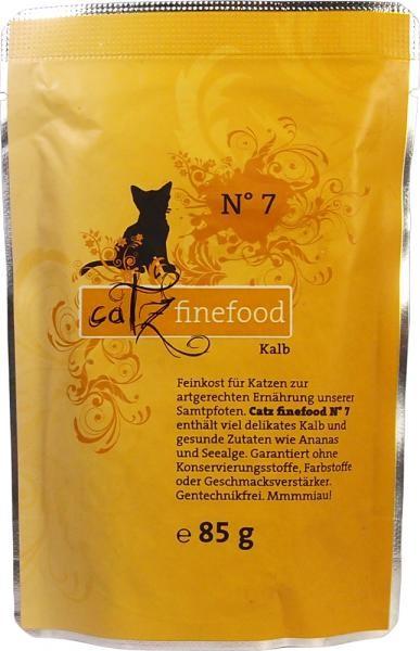 Catz finefood No. 7 Kalb 16 x 85 g