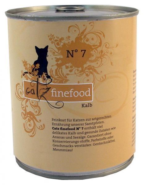 Catz finefood No. 7 Kalb 6 x 800 g