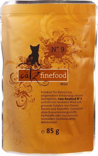 Catz finefood No. 9 Wild 16 x 85 g