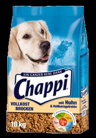 Chappi Vollkost Brocken mit Huhn und Vollkorngetreide 10 kg (SPARTIPP: unsere Staffelpreise)