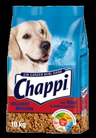 Chappi Vollkost Brocken mit Rind und Vollkorngetreide 10 kg (SPARTIPP: unsere Staffelpreise)