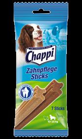 Chappi Zahnpflege Sticks mittlere Hunde 10 x 7 Stück
