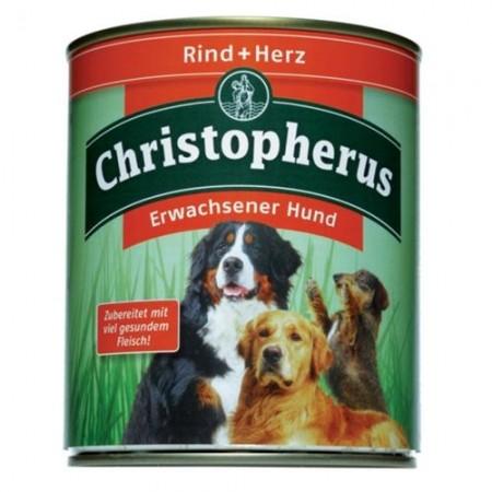 Christopherus Adult Rind & Herz Dose 400 g