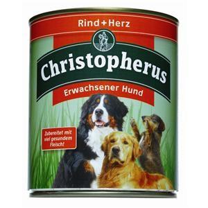 Christopherus Adult Rind & Herz Dose 800 g