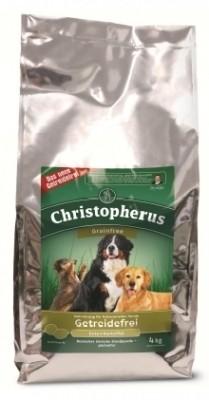 Christopherus Getreidefrei mit Ente und Kartoffel 1,5 kg, 4 kg oder 12 kg (SPARTIPP: unsere Staffelpreise)
