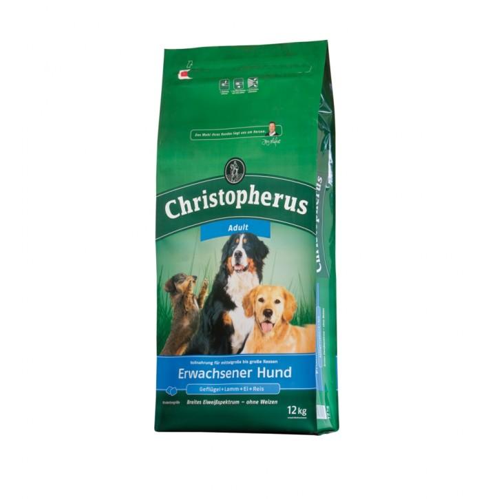 Christopherus Erwachsener Hund 2 x 12 kg (Staffelpreis)