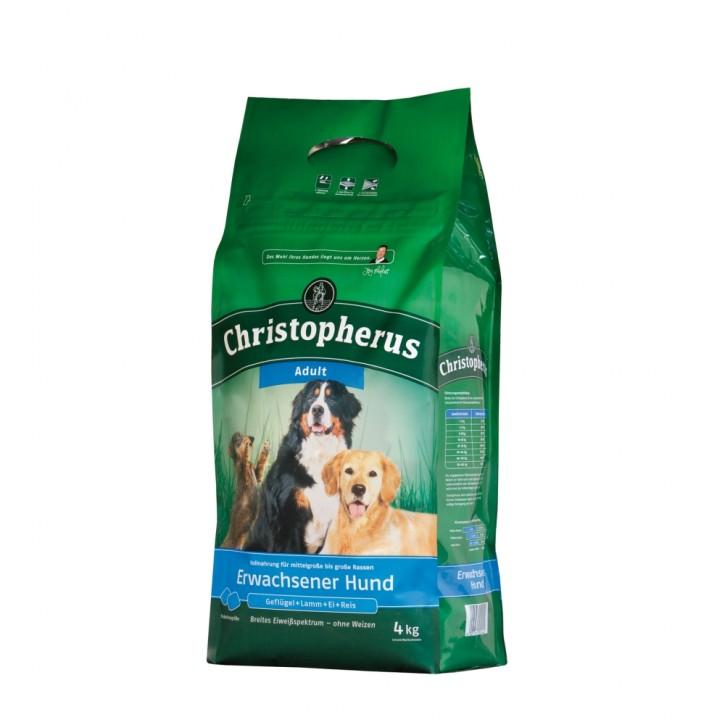 Christopherus Erwachsener Hund 4 kg oder 12 kg (SPARTIPP: unsere Staffelpreise)