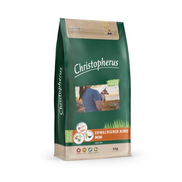 Christopherus Erwachsener Hund Mini 1,5 kg oder 4 kg