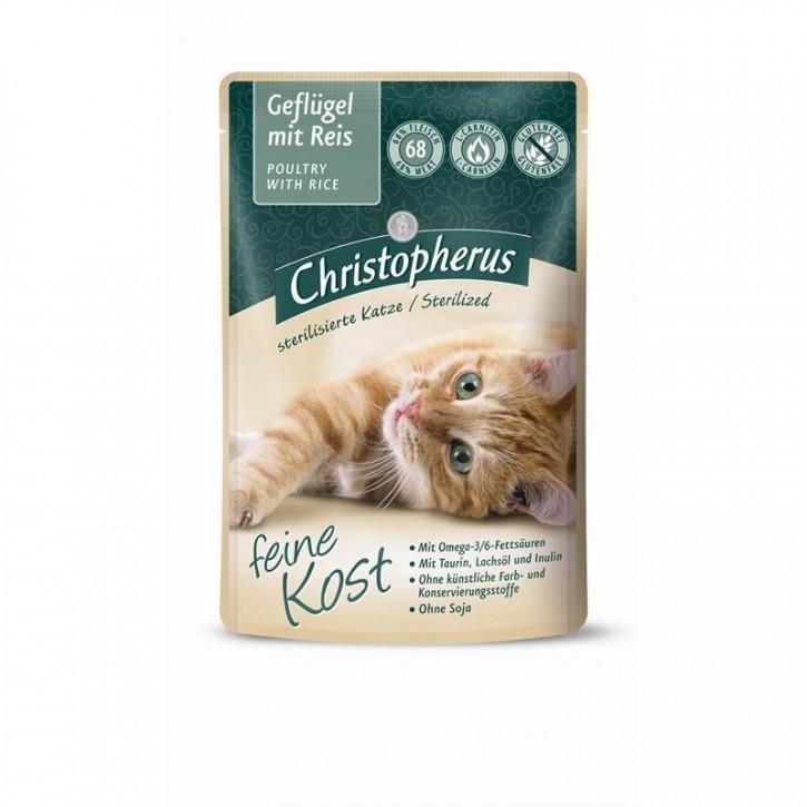 Christopherus Feine Kost Sterilized Geflügel mit Reis 12 x 85 g