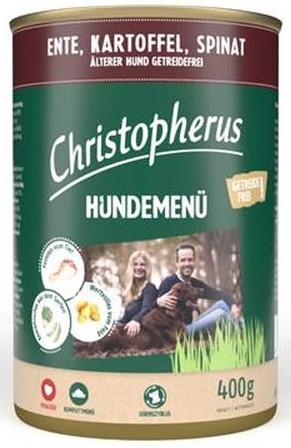 Christopherus Fleischmenü Senior mit Ente, Kartoffel und Spinat 400 g