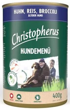 Christopherus Fleischmenü Senior mit Huhn, Reis und Broccoli 400 g