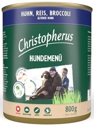 Christopherus Fleischmenü Senior mit Huhn, Reis und Broccoli 800 g