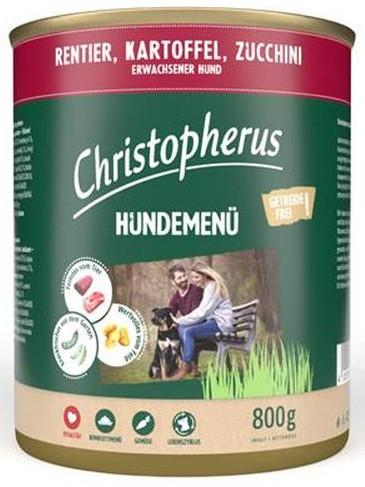 Christopherus Fleischmenü mit Rentier, Kartoffel und Zuccini 800 g