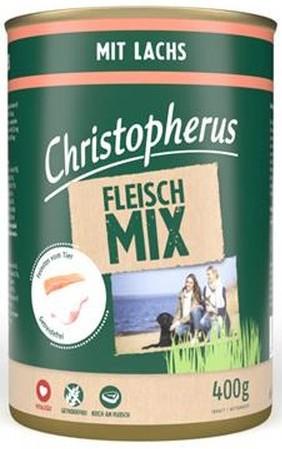 Christopherus Fleischmix mit Lachs 400 g